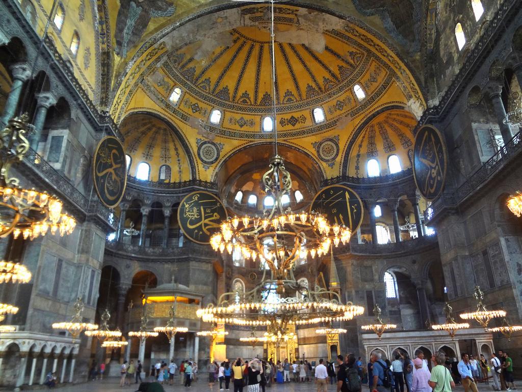 Turkey-Tours-Dome-of-Hagia-Sophia-istanbul