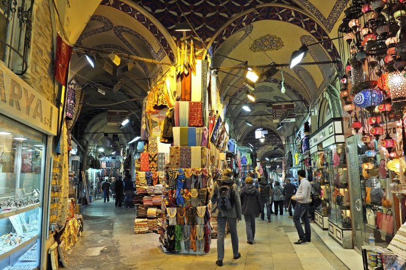 Turkey-Tours-Grand Bazaar-Istanbul